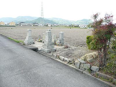 個人型墓地