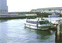 大阪市から出港の船