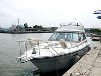 徳島から出港の船